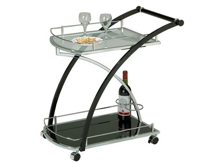 fabulous desserte chariot with grande desserte de cuisine. Black Bedroom Furniture Sets. Home Design Ideas