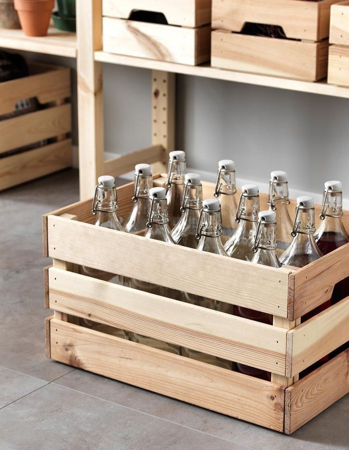 rangement bouteilles 12 solutions pour ranger ses bouteilles elle d coration. Black Bedroom Furniture Sets. Home Design Ideas