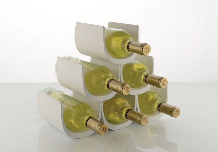 Un range-bouteilles décoratif