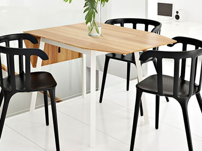 Table rallonges du mobilier aussi pratique que for Table de cuisine modulable