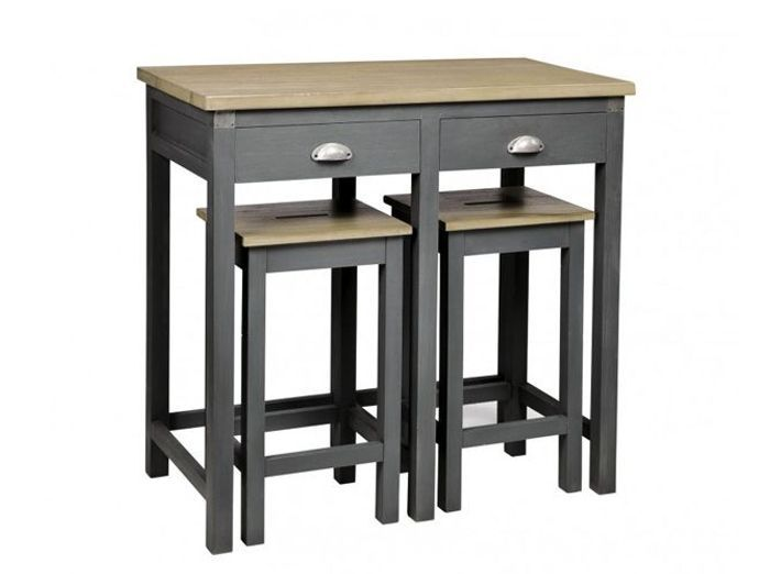 12 tables de bar pour tous les go ts elle d coration. Black Bedroom Furniture Sets. Home Design Ideas
