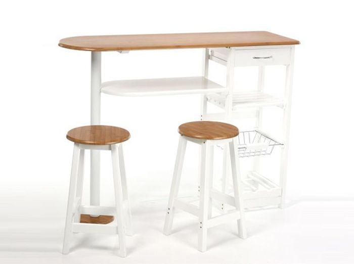 Quelle table pour ma cuisine elle d coration - Table bar cuisine but ...