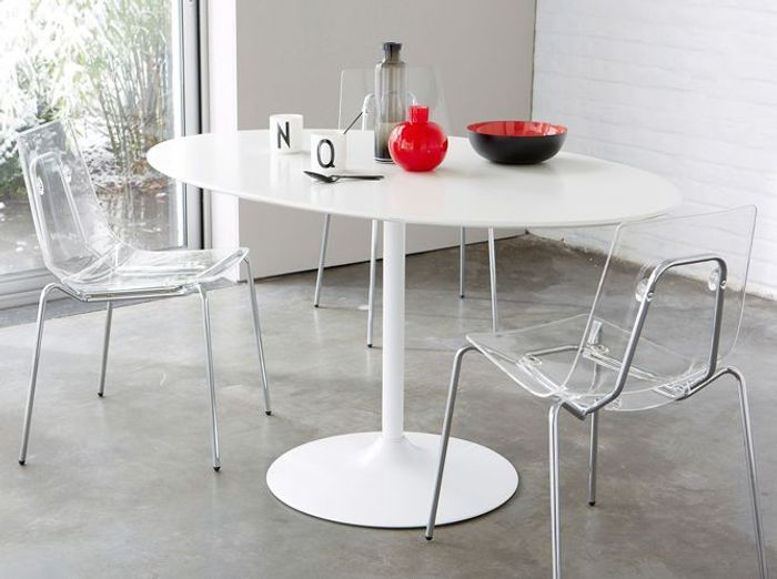 Quelle table pour ma cuisine elle d coration for Table ronde cuisine design