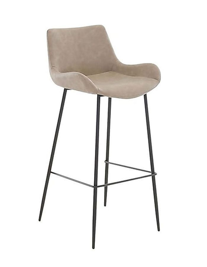 Tabouret de bar en simili cuir