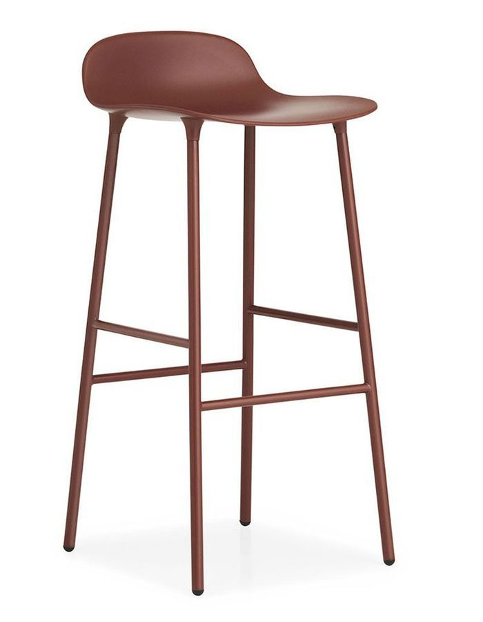 Tabouret de bar terracotta