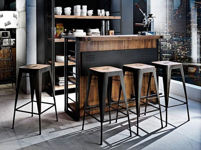 shopping quel tabouret de bar pour ma cuisine elle d coration. Black Bedroom Furniture Sets. Home Design Ideas