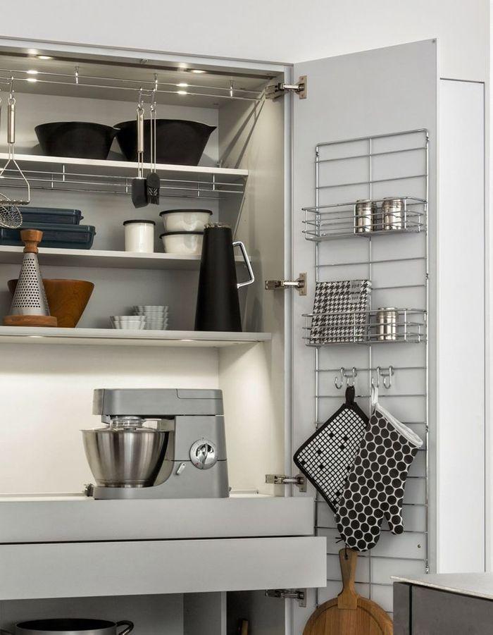 toutes nos astuces d co pour am nager une petite cuisine elle d coration. Black Bedroom Furniture Sets. Home Design Ideas