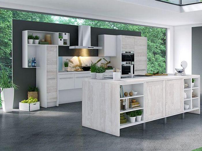 Une cuisine design et green