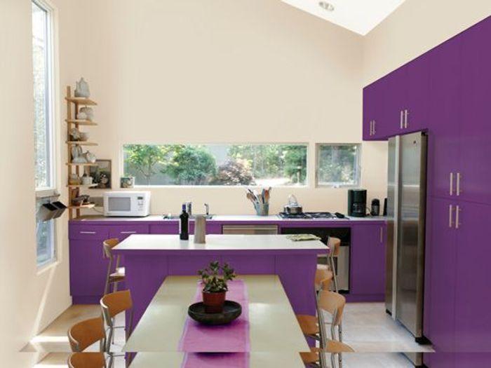les 7 r gles d or de la cuisine id ale elle d coration. Black Bedroom Furniture Sets. Home Design Ideas
