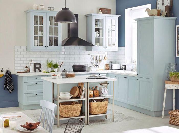 Cuisine ouverte decouvrez toutes nos inspirations elle for Petite cuisine équipée avec meuble colonne salle a manger
