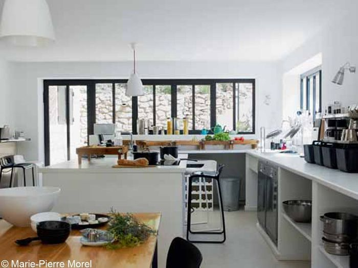 visites priv es de nos plus belles cuisines elle d coration. Black Bedroom Furniture Sets. Home Design Ideas