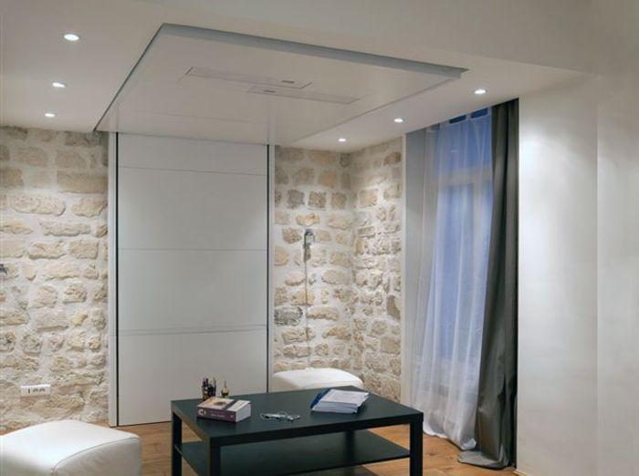 Solution rangement chambre lit avec espace de rangement - Solution rangement chambre ...