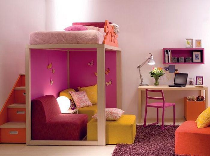 10 solutions pour am nager le dessous d un lit mezzanine elle d coration - Cacher un lit dans un salon ...