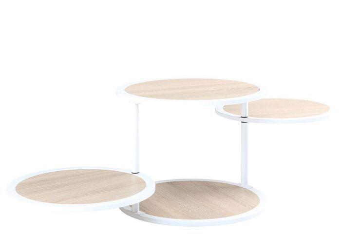 Table multi-plateaux