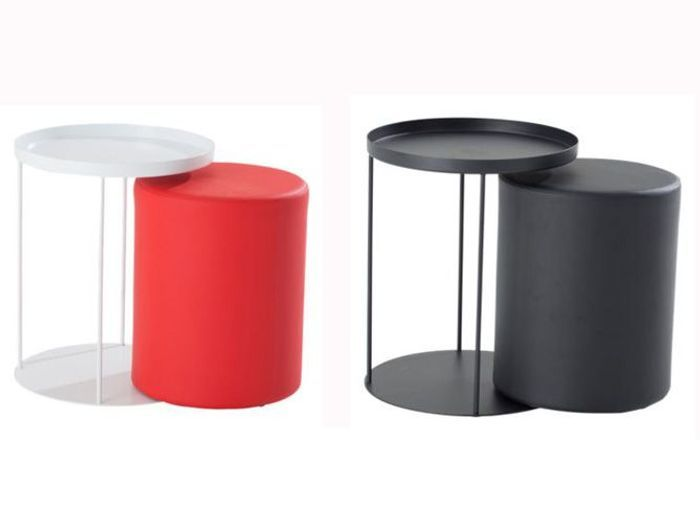 Table basse avec pouf fly - Tables basses modulables ...