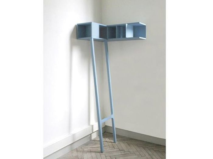etagere coin bleue cinna with petit meuble de coin. Black Bedroom Furniture Sets. Home Design Ideas