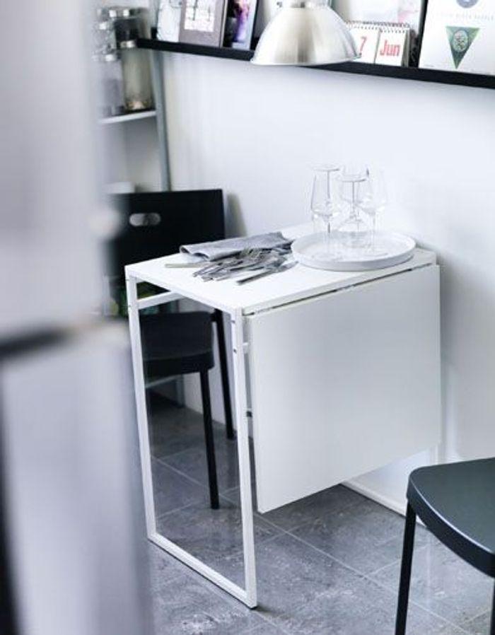 Ikea muddus klapptisch  Good Table A Rabat Ikea #14: IKEA BJURSTA/NILS Table And 1 Stool ...