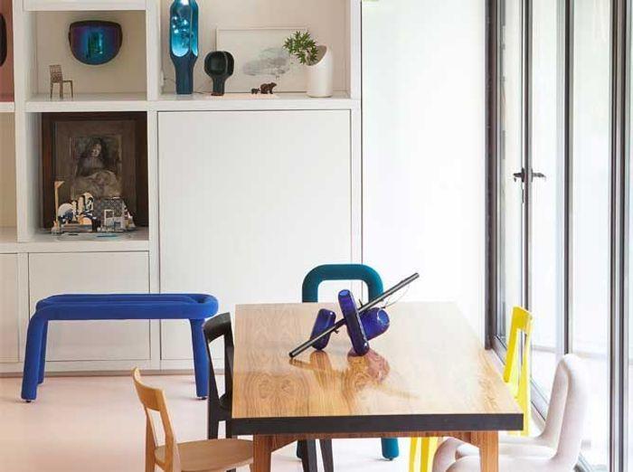 un int rieur design pour une petite maison elle d coration. Black Bedroom Furniture Sets. Home Design Ideas