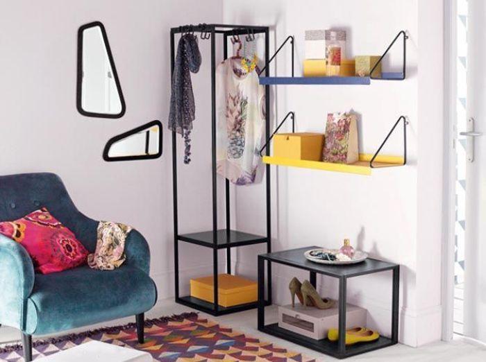 De petits meubles déco pour se créer un mini dressing