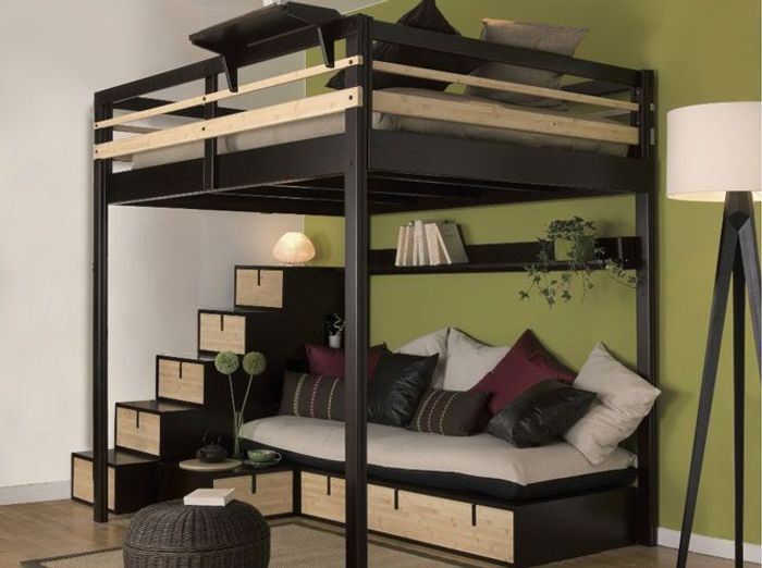 studio nos 30 id es de rangements bien pens s elle. Black Bedroom Furniture Sets. Home Design Ideas