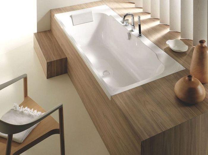 Salle de bains japonisante
