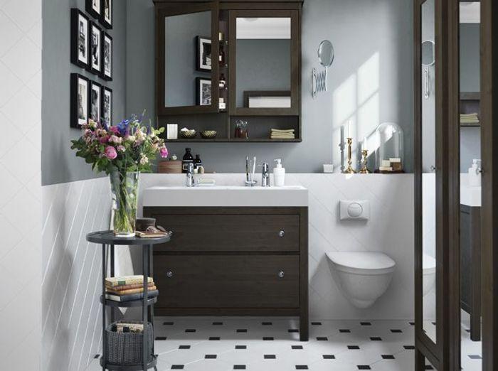 45 id es d co pour la salle de bains elle d coration - Deco salle de bain blanche ...