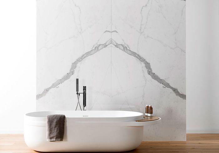 Offrez-vous du marbre dans la salle de bains