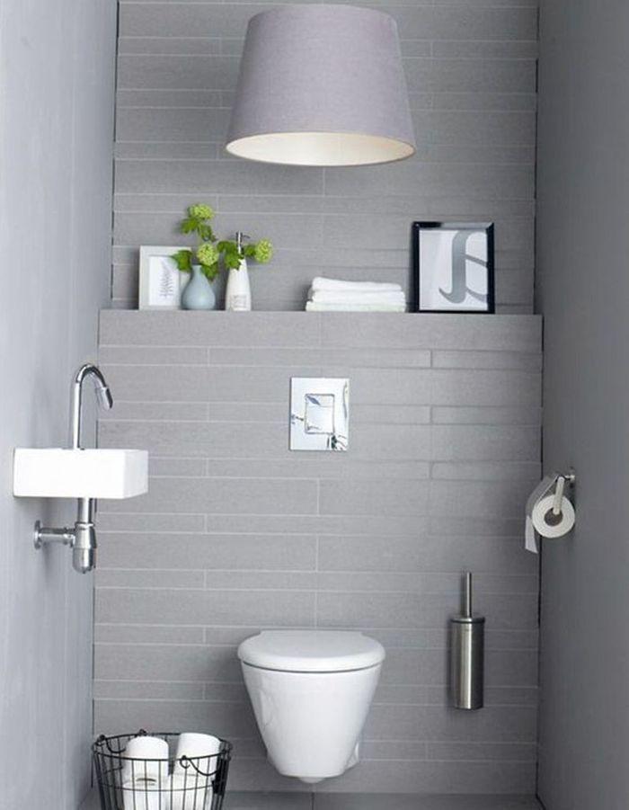 Décorer ses toilettes en gris tendance