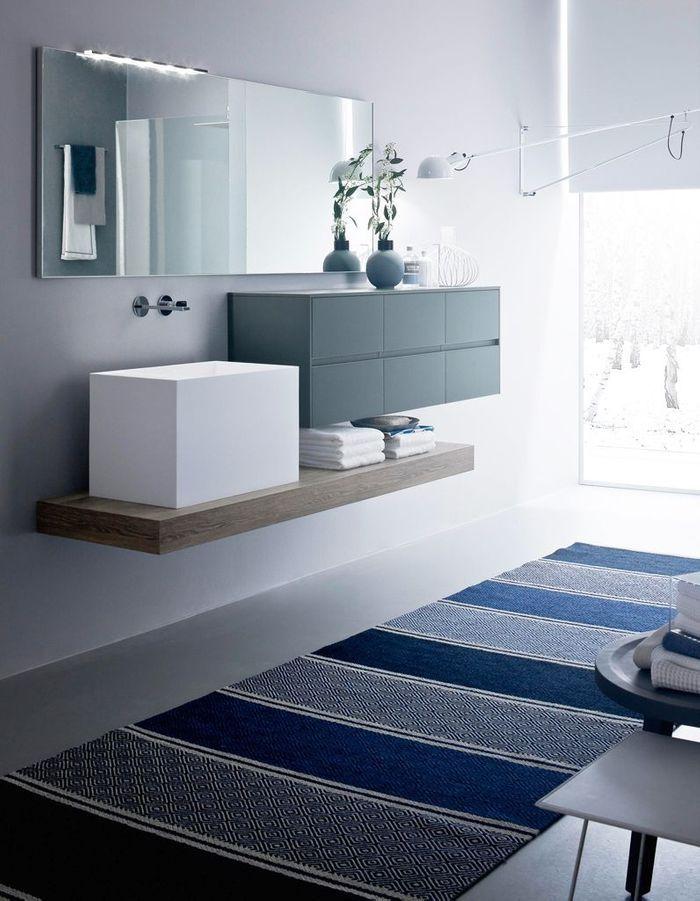 Salle De Bain Bleue : Découvrez les plus belles salles de bains bleues elle