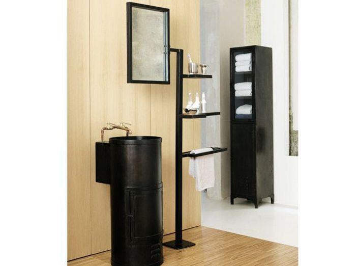40 meubles pour une petite salle de bains elle d coration - Petit meuble de salle de bain pas cher ...