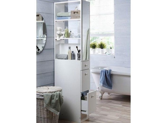 40 meubles pour une petite salle de bains elle d coration for Meuble de pharmacie pour salle de bain