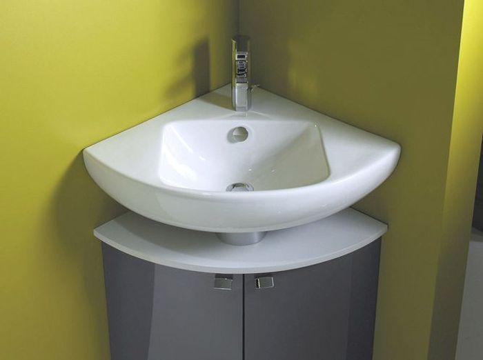 40 meubles pour une petite salle de bains elle d coration for Meuble de coin salle de bain