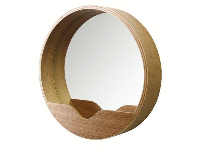 Accessoires salle de bains elle d coration for Miroir salle de bain avec rangement