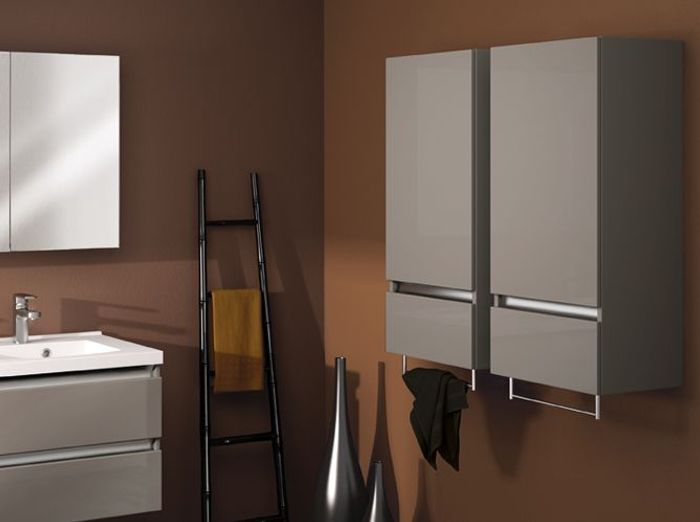 40 armoires de salle de bains Elle Décoration