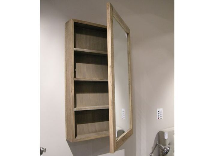 Latest armoire salle de bain hanjel with grand miroir for Miroir salle de bain leroy merlin