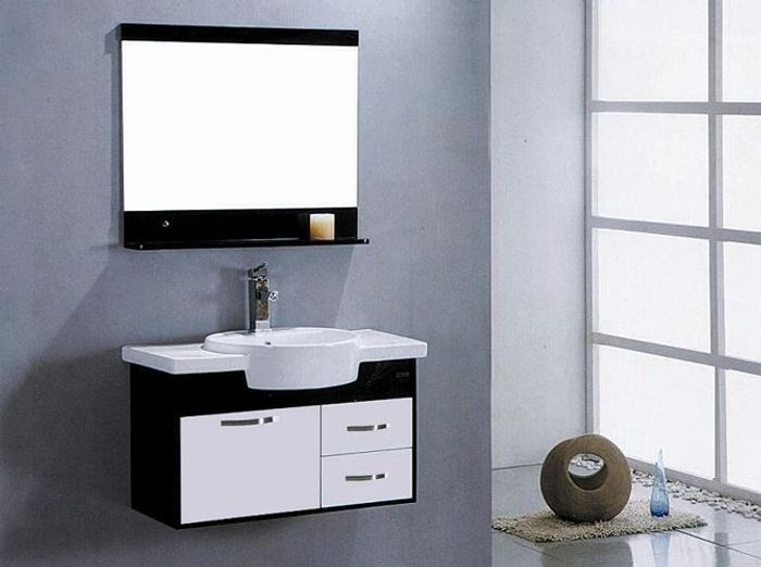 5c5a89422b5f21 Meubles De Salle De Bain Pas Cher. meuble salle de bain noir pas ...
