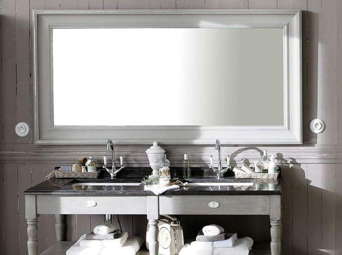 Miroir salle de bain maisons du monde