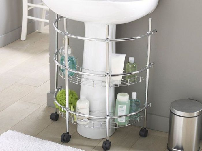 Petit meuble salle de bains notre s lection elle d coration - Meuble sous lavabo ancien ...