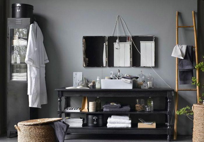 Voici les plus jolis miroirs de salle de bains elle for Miroir baroque salle de bain
