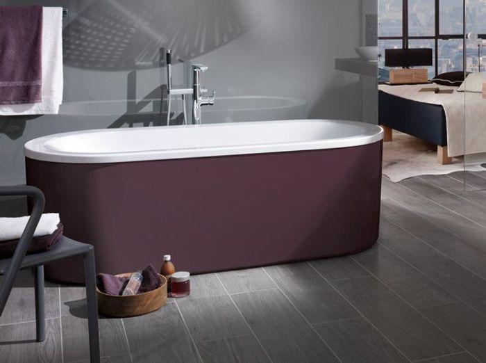 L 39 inspiration du jour des vasques baignoires et viers for Baignoire en couleur