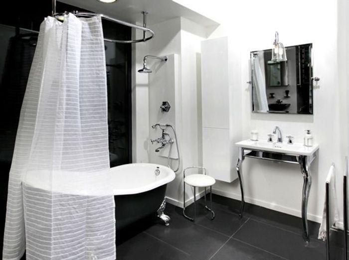 Des belles salles de bains pour r ver elle d coration for Rideau meuble salle de bain