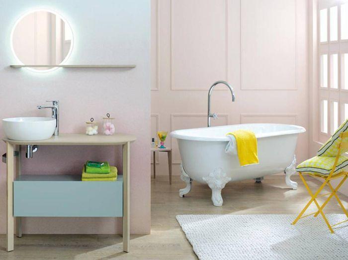 Nos id es avec des meubles de salle de bains design elle - Salle de bain feminine ...
