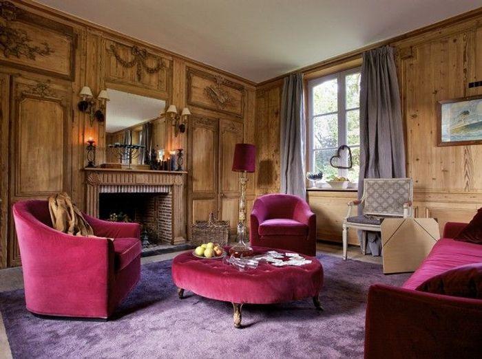 des salons pour tous les styles elle d coration. Black Bedroom Furniture Sets. Home Design Ideas
