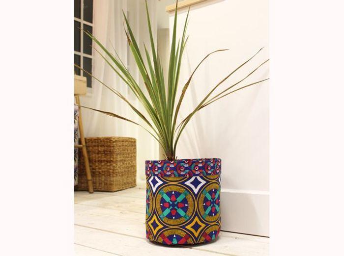 diy un cache pot en wax elle d coration. Black Bedroom Furniture Sets. Home Design Ideas