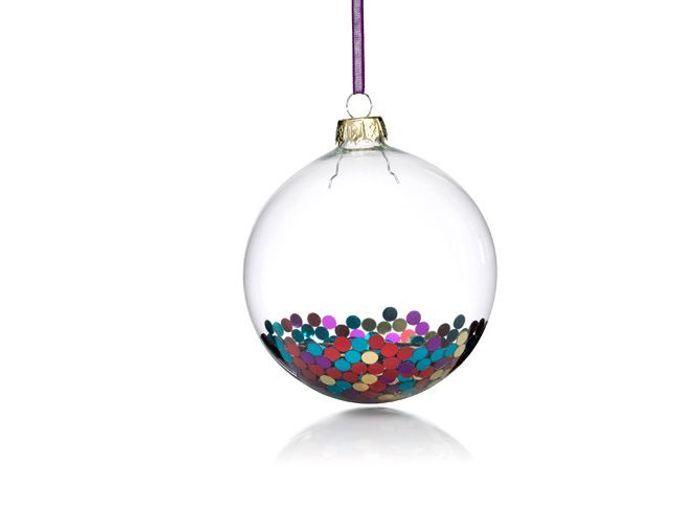 25 boules de no l color es elle d coration for Decoration boule de noel