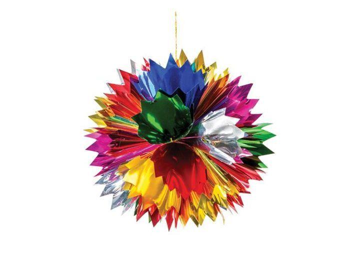50 boules de no l pour habiller son sapin elle - Origami boule de noel ...
