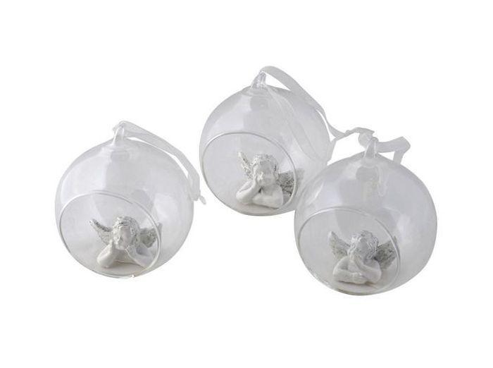 Shopping de no l des boules en verre pour mon sapin elle - Etoile lumineuse pour sapin ...