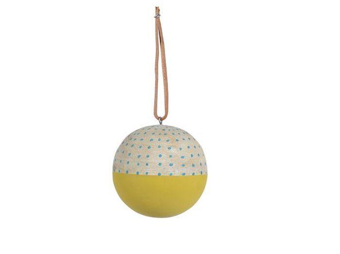 40 boules de no l color es elle d coration - Deco noel jardin d ulysse ...