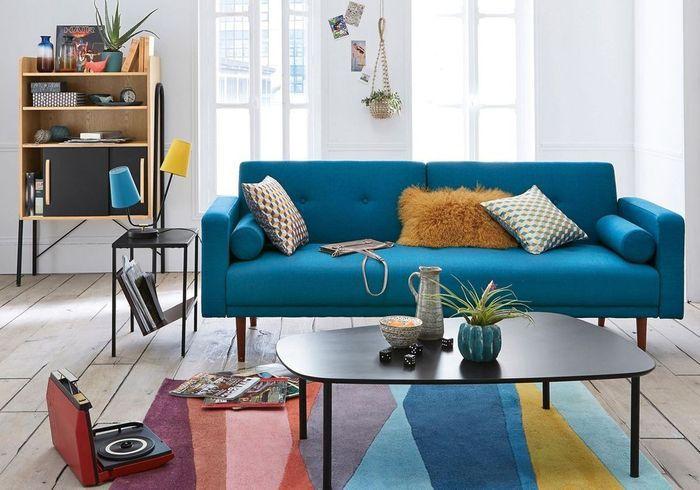 canap convertible design notre s lection pour un salon styl elle d coration. Black Bedroom Furniture Sets. Home Design Ideas