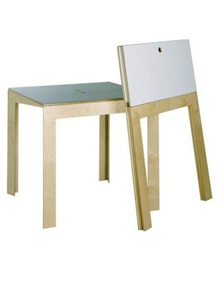 Chaises et tables pliantes elle d coration for Salon meubles et objets